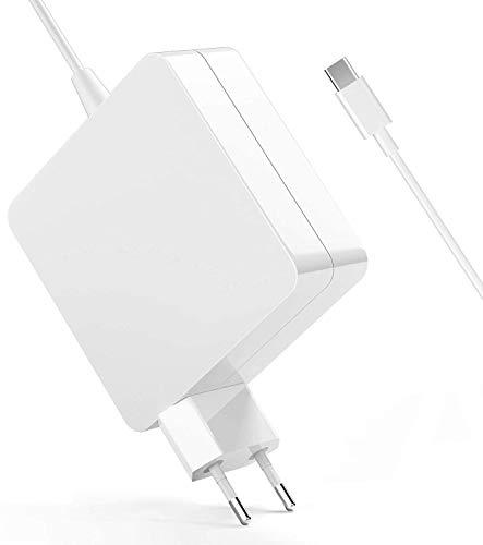 SunMac Chargeur Type C 90W Secteur USB C PD Universel Chargeur Compatible avec Nouveau Macbook Pro&Air, ASUS, Lenovo ThinkPad Yoga, HP, Samsung Livre d'or Google Chromebook Huawei Xiaomi Air