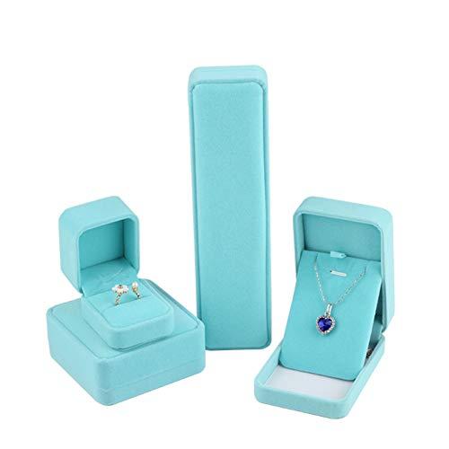 YuoungYuan Cajas para Joyas Accesorios de joyería Caja de Pendientes para Almacenamiento Joyero de Gran Capacidad Joyero para Pendientes Set