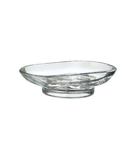 Smedbo Ersatzglas klar für Seifenschalen der Serien CABIN und VILLA