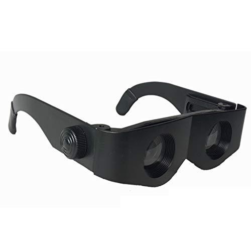 Lupa De Pesca Ajustable Gafas Especiales De Cabeza De Pez Gafas De Telescopio De Pesca Gafas De Pesca Ajustables Equipo De Pesca Montado En La Cabeza Lupa Negro