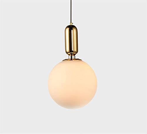 Stairwell - Lámpara de techo regulable con luz LED de viento industrialenordic para dormitorio, mesita de noche, pequeña lámpara creativa sencilla y moderna, armario redondo, pasillo, restaurante, arte, individual, personalidad europea, 25 cm