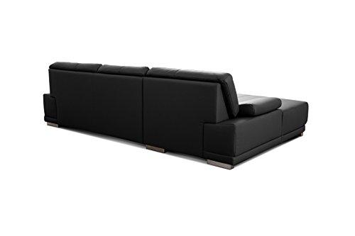 Ecksofa Couch günstig CAVADORE Corianne Bild 3*