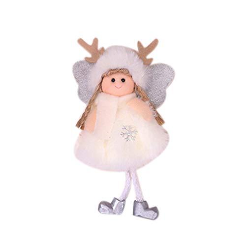 Vosarea addobbi per L'Albero di Natale Decorazioni Natalizie per Bambole con Angelo Ornamenti con Corna di Renna Festa di Natale favorisce i Regali