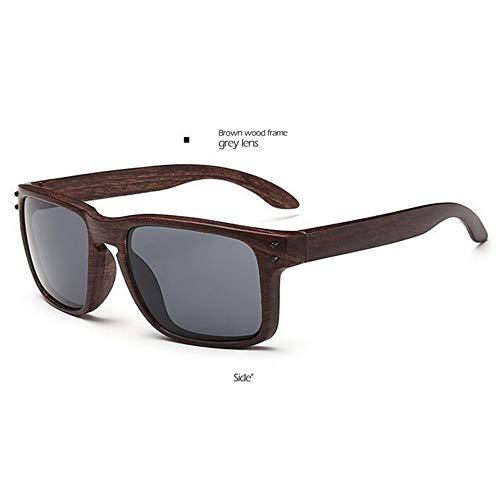 LAMAMAG Sonnenbrille Holz Sonnenbrille Herren Retro de sol vr 46 vr46 Sonnenbrille Platz Frauen männer Brille Spiegel Bunte, c
