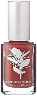 Priti NYC Vegan Nail Polish 353 Heart Throb Hibiscus - Rusty Orange - .43 Ounce