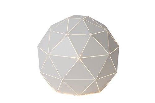Lucide OTONA - Lampe De Table - Ø 25 cm - Blanc