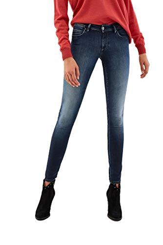Salsa Skinny Push Up Wonder Jeans Blauw