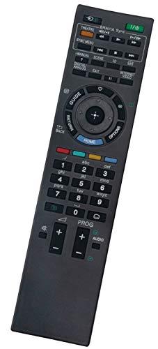 ALLIMITY RM-ED034 RMED034 Fernbedienung Ersetzen für Sony Bravia TV KDL-32W4000E KDL-32W4210 KDL-32W4210LCD KDL-37V4500 KDL-40HX800 KDL-40W4500 KDL-46W4000