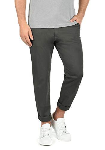 !Solid Machico Herren Chino Hose Stoffhose Stretch Regular Fit, Größe:W33/34, Farbe:Dark Grey (2890)