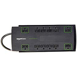 Surge Protectors for Home Theater - Amazon Basics 12-outlet Power Strip Surge