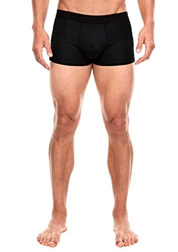 s.Oliver Herren 2er-Pack melierte Boxershorts black/grey melange 5