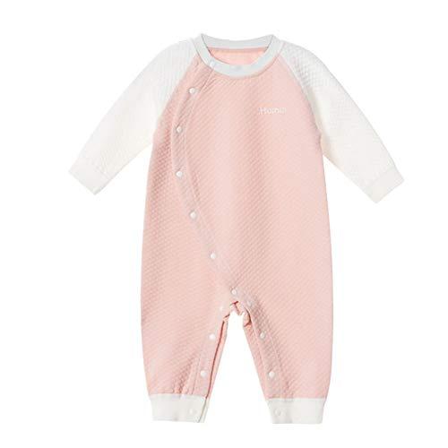 Katoen Baby Eendelige pyjama, Winter Pasgeboren Warm Ondergoed Gewatteerde Jumpsuit, Geschikt voor 0~3 Jaar Oude Baby