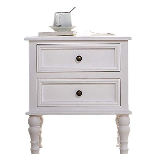 ZGQA-GQA Solid Wood Bedside Table Simple Locker American Children's Cabinet Small Storage Cabinet Narrow Cabinet White Pine Side Corner table