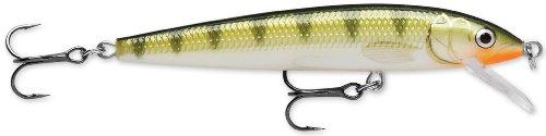 Rapala Husky Jerk 12 Fishing lure, 4.75-Inch, Yellow Perch