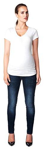 Noppies 60039 Set de jeans de circonstances Slim Fit Mia + chiffon pour bébé 80 x 60 cm - Bleu - W32
