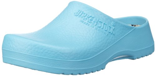 Birkenstock - Professional SUPER Damen Clogs, Türkis (Ciel Blue Light), 38 EU
