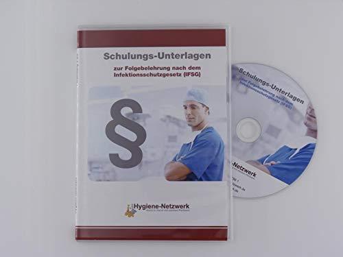 IFSG-Schulungs-Unterlagen zur Folgebelehrung Infektionsschutzgesetz auf CD
