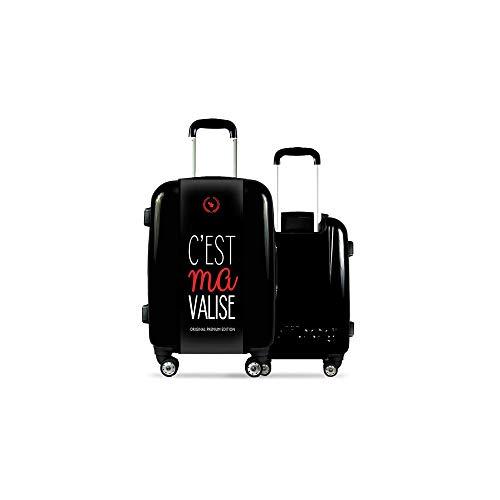 Valise CALIBAG (Format Cabine) C'est ma ! Original Red...