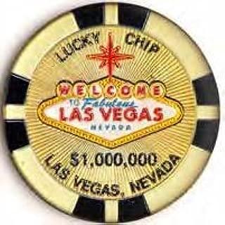 (24 7/18) LM Las Vegas Magnet 1 Million Gold Poker Chip 2.5