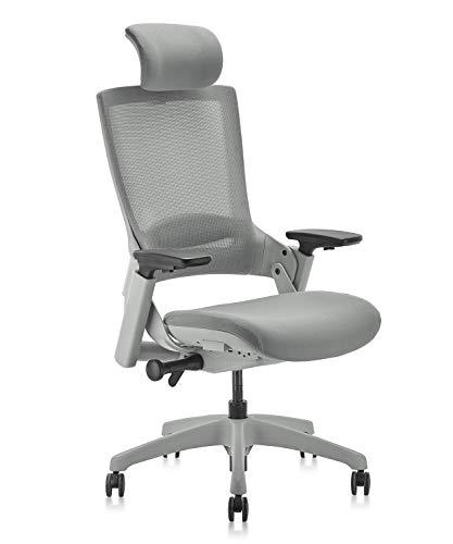 CLATINA Ergonomic High Swivel Executive Chair with Adjustable...