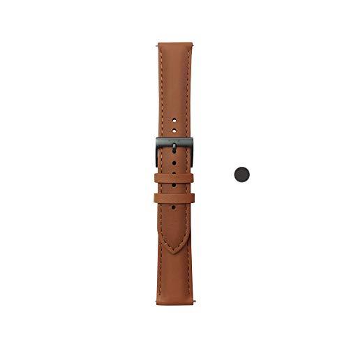Withings Erwachsene Lederarmband, Brown, 40mm