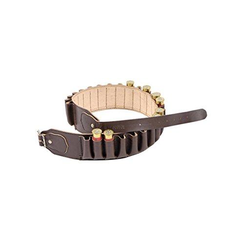 Bisley Cartucho Cinturón Cuero Marrón Bolsillo Cerrado