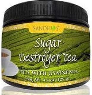 Sugar Destroyer Tea (Tea with Gymnema for healthy blood sugar) (4.4 Ounces)