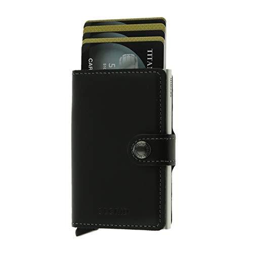 Kartenetui secrid RFID Cardprotector city wallet Leder schwarz