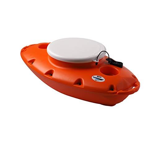 CreekKooler Pup 15 quart Floating Towable Cooler, Orange