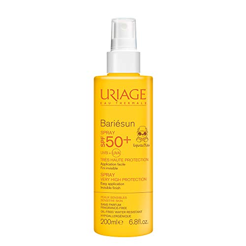 Uriage Laboratoires Dermatolog 55288 Bariesun Spray per Bambini, SPF 50+, 200 ml