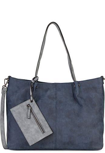 Emily & Noah Surprise Bag in Bag Shopper Tasche 45 cm