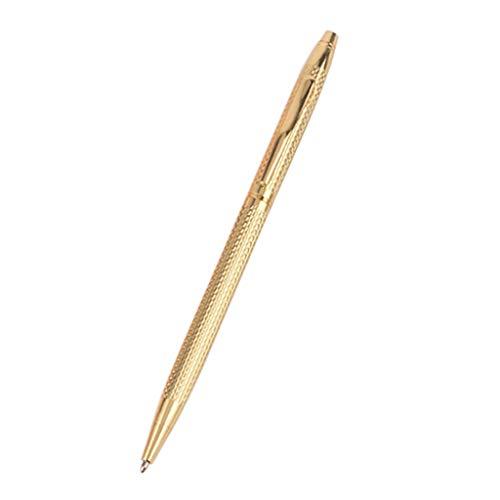 Bolígrafo de lujo de metal de la firma de tinta negra de la escritura de negocios de la oficina suministros de