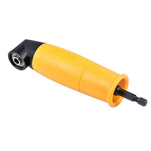 KATUR 90 graden hoekboor-opzetstuk, hoekboor-schroevendraaier-verlengstuk, 1/4 inch zeskantschacht