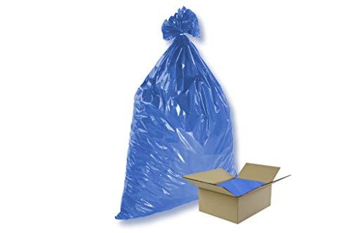 1 Karton = 100 Stück Müllsäcke - blau...