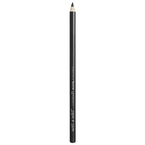 Wet n Wild Color Icon Kohl Liner Pencil, Baby's Got Black 0.04 oz (Pack of 2)