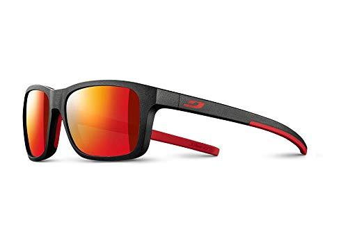 Julbo Line - Gafas de sol unisex para niño, negro/rojo, FR: XXS (talla del fabricante: 5-8 años)