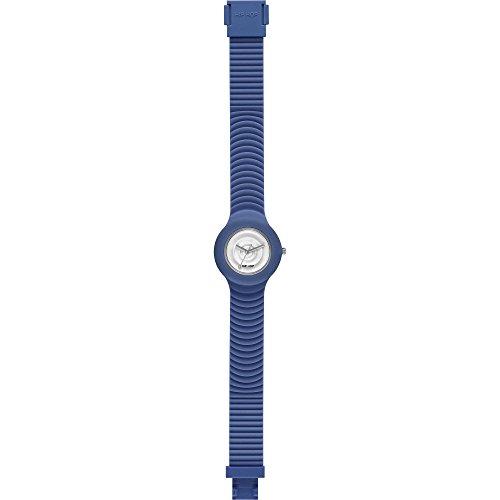 Hip Hop Watches - Orologio da Donna Blue Yonder HWU0509 - Collezione Sensoriality - Cinturino in Silicone - Impermeabile 5 ATM - Cassa 32mm - Blu