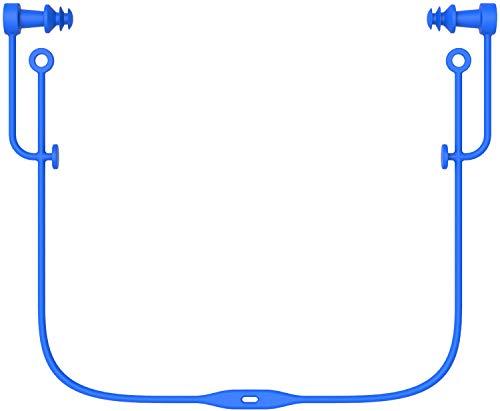 SWANS(スワンズ) 水泳 シリコーン耳栓 コード付き 大人用 BL ブルー SA57