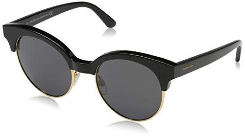 Balenciaga BA0128 05A-51-19-140 Balenciaga Sunglasses BA0128 05A-51-19-140 Rund Sonnenbrille 51, Schwarz