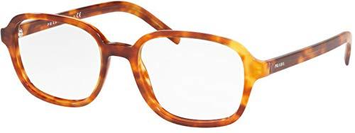 Prada 0PR 08XV Monturas de gafas, Light Havana, 52 para Hombre