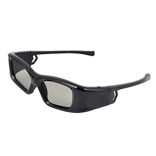 AMY 3D-Brille, RF 3D-Brille Mit Aktivem Auslöser Projektor Für Benq Optoma Dell Mitsubishi Samsung Vivitek NEC Sharp Viewsonic & Endless Others - Für Heimvideos Und TV