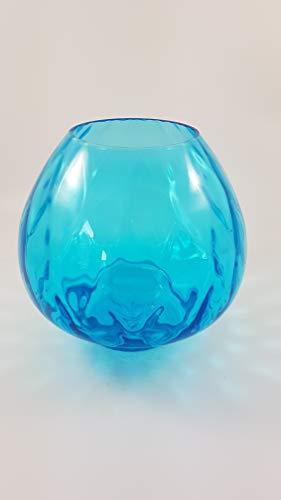 1a PartyLite - Kerzenhalter Blaue Welle - P9916