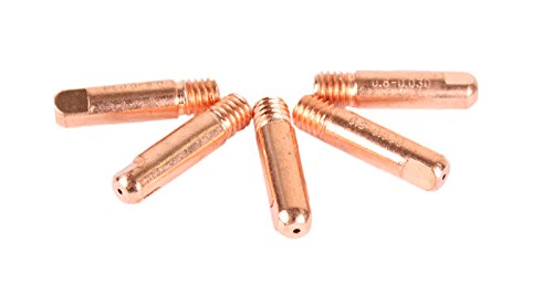 WELDINGER MIG/MAG Stromdüsen M6 0,8 mm 5er-Set (Kontaktröhrchen Schweißzubehör MB 150)