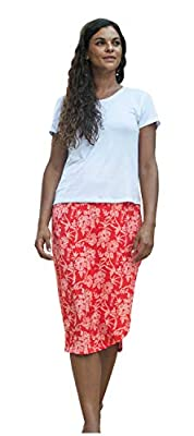 RipSkirt Hawaii - New! Length 3 - Quick Wrap Cover-up That Multitasks as The Perfect Travel/Summer Skirt