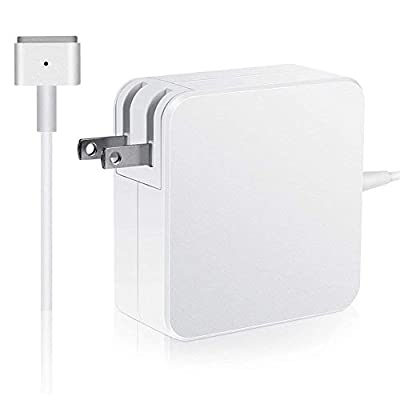 Mac Book Pro Charger, AC 85w Power Adapter T-Tip Adapter Charger Connector - Superior Heat Control - Mac Book Pro 13/15/17 Inch ?After Late 2012 to 2015