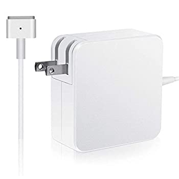 MacBook Pro Charger Replacement Magnetic 60W T-Tip Power Adapter Compatible with Mac Book Charger/Mac Book air( After Late 2012)