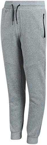 TONY HAWK Boy's Sweatpants - Fleece Joggers with Zipper Pockets, Size 8, Heather Grey'