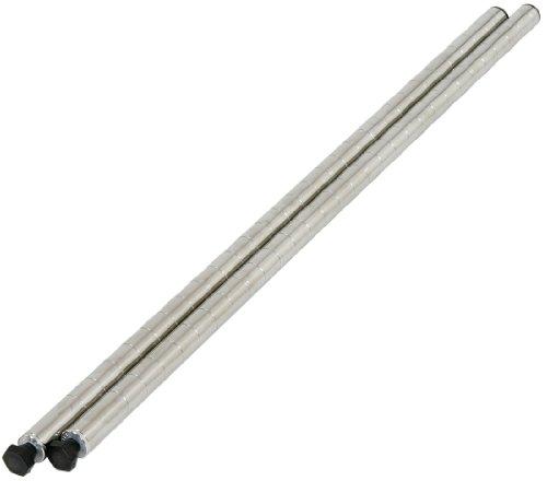ホームエレクター メタルラック ポスト 450mm (2本入り) ステンレス H18PS2