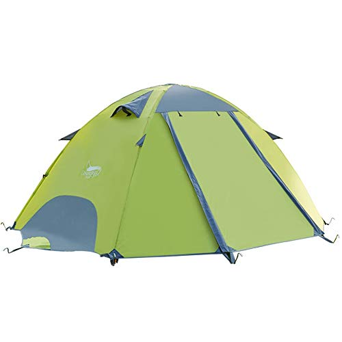 DESERT & FOX 3 Season Lightweight Tent Outdoor Camping Hiking Tents with Carry Bag 2 Person Double Layer Backpack Compact Tent