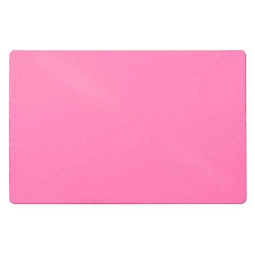 Trendige Schreibtischunterlage | Pink | abwischbar | PVC-frei | 65 x 50 cm